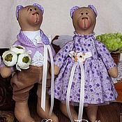 Куклы и игрушки ручной работы. Ярмарка Мастеров - ручная работа Мишки Прованс. Handmade.