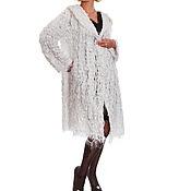 Одежда ручной работы. Ярмарка Мастеров - ручная работа Пальто из хлопка Уютный снег. Handmade.