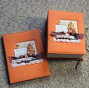 """Книги ручной работы. Ярмарка Мастеров - ручная работа Книга пожеланий """"Осень"""". Handmade."""