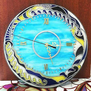 """Для дома и интерьера ручной работы. Ярмарка Мастеров - ручная работа Часы: """"Одиссея"""". Handmade."""
