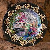 Для дома и интерьера ручной работы. Ярмарка Мастеров - ручная работа тарелка пейзажи. Handmade.