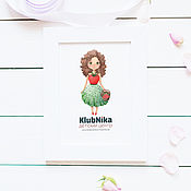 Дизайн и реклама ручной работы. Ярмарка Мастеров - ручная работа Персонаж для детского центра KlubNika (Бронь). Handmade.