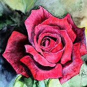 Картины ручной работы. Ярмарка Мастеров - ручная работа Картины: Дивная роза. Handmade.