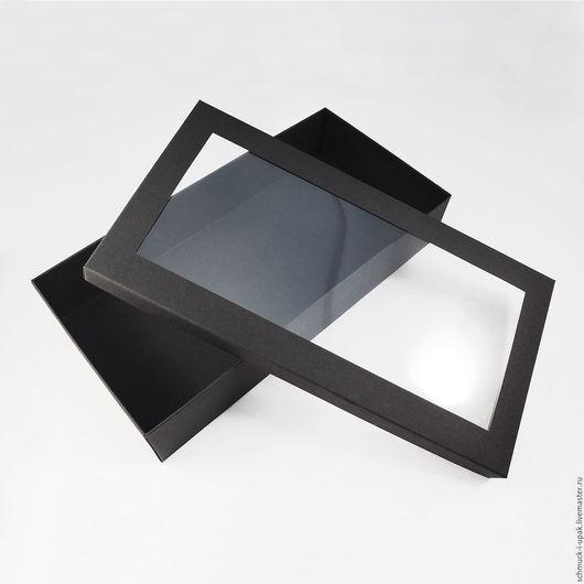 Упаковка ручной работы. Ярмарка Мастеров - ручная работа. Купить Коробка с окном. Handmade. Коробочки, Упаковка на заказ