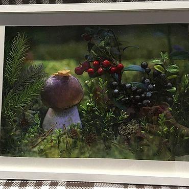 Картины и панно ручной работы. Ярмарка Мастеров - ручная работа Фотокартины: Лесовичок. Handmade.