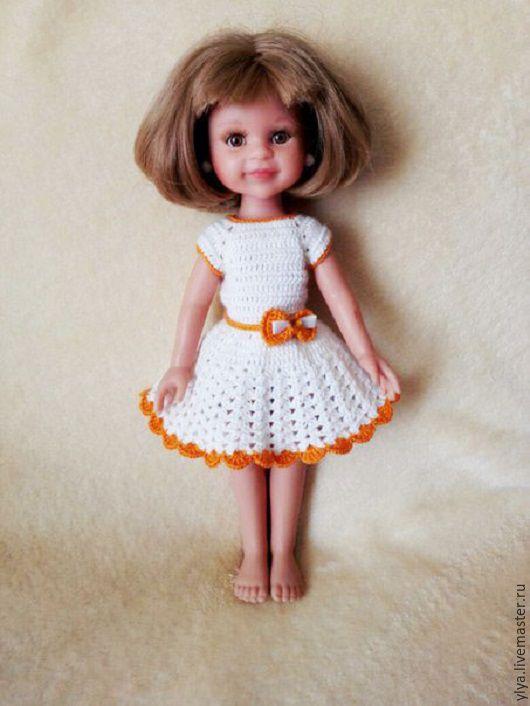 Одежда для кукол ручной работы. Ярмарка Мастеров - ручная работа. Купить Вязаная одежда на куклу Паола Рейна.. Handmade. Комбинированный