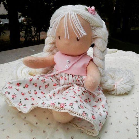 Вальдорфская игрушка ручной работы. Ярмарка Мастеров - ручная работа. Купить Вальдорфская куколка. Handmade. Вальдорфская кукла, кукла в подарок