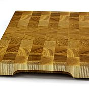 Для дома и интерьера handmade. Livemaster - original item End cutting Board №147. Handmade.
