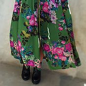 """Одежда ручной работы. Ярмарка Мастеров - ручная работа Бохо-платье """"Butterfly, брусничные розы"""". Handmade."""