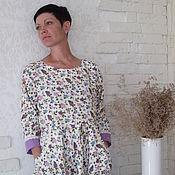 """Одежда ручной работы. Ярмарка Мастеров - ручная работа Платье""""Сиреневый туман"""". Handmade."""