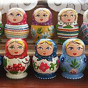 Сувениры и подарки handmade. Livemaster - original item Magnets dolls. Handmade.