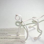 Материалы для творчества ручной работы. Ярмарка Мастеров - ручная работа Пушистая проволока для каркаса ассорти. Handmade.