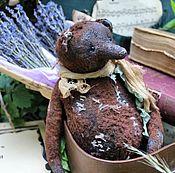 Куклы и игрушки ручной работы. Ярмарка Мастеров - ручная работа Старинный винтажный  авторский мишка тедди плюшевый Арчи. Handmade.