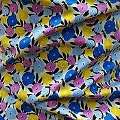 Ткани ручной работы. Ярмарка Мастеров - ручная работа Ткань хлопок  поплин,2 вида,   ф 019. Handmade.