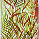 Batik, wool silk stole 'Dry grass', Scarves, Moscow,  Фото №1