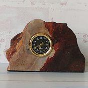 Часы классические ручной работы. Ярмарка Мастеров - ручная работа Часы ручной работы из яшмы природной. Handmade.