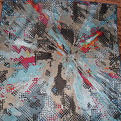 Винтаж handmade. Livemaster - original item FRAAS scarf,100% silk,vintage Germany. Handmade.