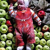 """Работы для детей, ручной работы. Ярмарка Мастеров - ручная работа Комбинезон на малыша """"Зеленун"""". Handmade."""