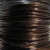 Шнуры ручной работы. Ярмарка Мастеров - ручная работа Вощеный шнур 1 mm, для украшений черный, темно зеленый, бирюза. Handmade.