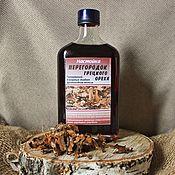 Материалы для творчества handmade. Livemaster - original item Partitions of walnuts tincture 250 ml. Handmade.