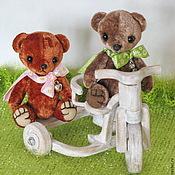 Куклы и игрушки ручной работы. Ярмарка Мастеров - ручная работа Мишки тедди-мини-8см.. Handmade.