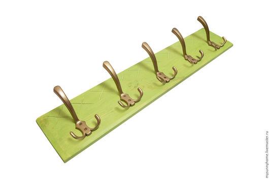 Прихожая ручной работы. Ярмарка Мастеров - ручная работа. Купить Настенная вешалка с крючками №2 (на 1 крючек). Handmade.