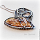 Order Pendant 'The Love Is...'. Taniri Jewelry. Livemaster. . Pendants Фото №3