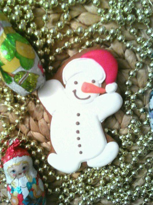 Персональные подарки ручной работы. Ярмарка Мастеров - ручная работа. Купить Милый снеговик. Handmade. Комбинированный, подарок женщине