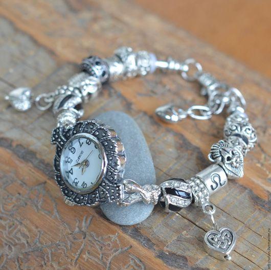 """Часы ручной работы. Ярмарка Мастеров - ручная работа. Купить Часы """"Зодиак ЛЕВ"""" с браслетом в европейском стиле.. Handmade."""