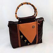 Сумки и аксессуары handmade. Livemaster - original item Bag leather brown