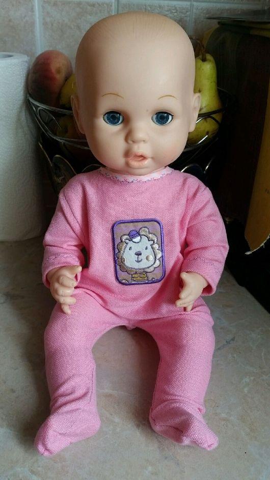 Одежда для кукол ручной работы. Ярмарка Мастеров - ручная работа. Купить Слип для Baby Annabell. Handmade. Одежда для кукол