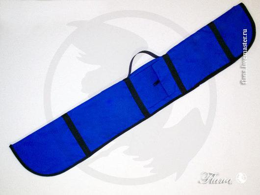 Сумка-чехол для меча (европейского или восточного). Для восточных единоборств (кэндо, иайдо, айкидо), с теплой мягкой внутренней отделкой. Индивидуальный пошив, Флана