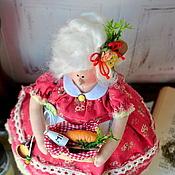 Куклы и игрушки ручной работы. Ярмарка Мастеров - ручная работа Толстушка-стильное украшение кухни- неординарный подарок).. Handmade.