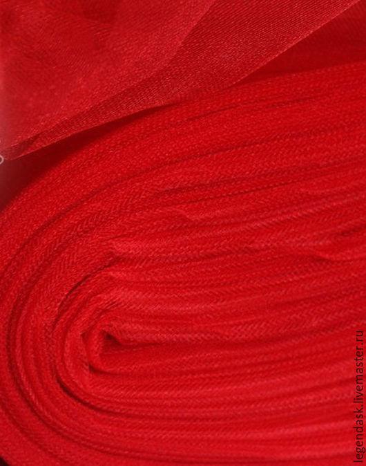 Шитье ручной работы. Ярмарка Мастеров - ручная работа. Купить Красный фатин. Handmade. Ярко-красный, туту, выпускные, в наличии