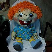 Stuffed Toys handmade. Livemaster - original item Redhead-Ginger-Freckles. Doll speech therapy.. Handmade.