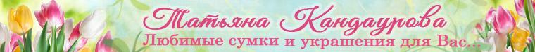 Татьяна Кандаурова сумки,украшения