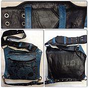 Сумки и аксессуары handmade. Livemaster - original item Leather leg bag. Handmade.