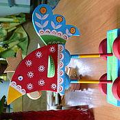 Подарки к праздникам ручной работы. Ярмарка Мастеров - ручная работа Петушок-золотой гребешок. Handmade.