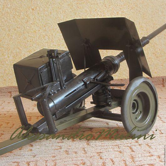 Техника ручной работы. Ярмарка Мастеров - ручная работа. Купить Пулемёт крупнокалиберный -ДШК (имитация). Handmade. Хаки, оружие, подарок