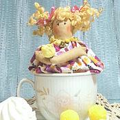 Куклы и игрушки ручной работы. Ярмарка Мастеров - ручная работа Чайная Фея в чашке). Handmade.