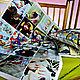 Детская ручной работы. Ярмарка Мастеров - ручная работа. Купить Лоскутное одияло в детскую, Фото плед, Фотоподушка. Handmade. Фотоплед