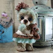 Куклы и игрушки handmade. Livemaster - original item Mint Teddy bear Nosecka 3. Handmade.