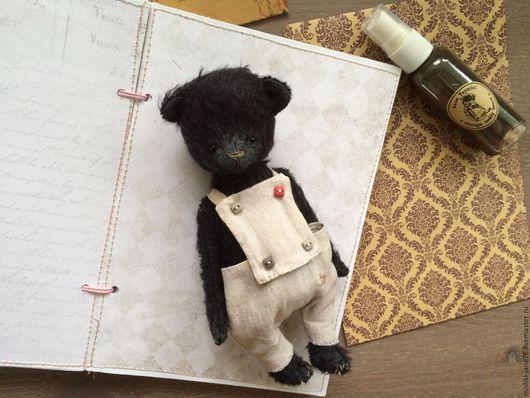 Мишки Тедди ручной работы. Ярмарка Мастеров - ручная работа. Купить Мишка. Handmade. Черный, мишки тедди, нежность, мохер