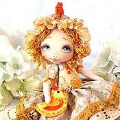 Куклы и игрушки ручной работы. Ярмарка Мастеров - ручная работа Волшебная Курочка. Handmade.