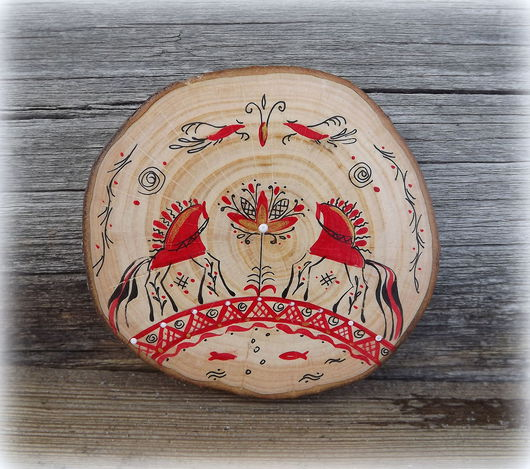 """Магниты ручной работы. Ярмарка Мастеров - ручная работа. Купить Сувенир-оберег """"Слияние двух половинок"""". Handmade. Подарок, магнит"""