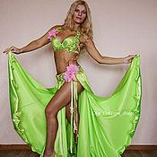 """Одежда ручной работы. Ярмарка Мастеров - ручная работа Костюм для танца живота """"Весенний букет"""". Handmade."""