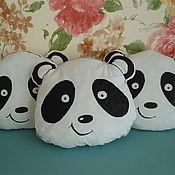 Для дома и интерьера handmade. Livemaster - original item Panda Pillow snuggle buddy Pillow toy. Handmade.