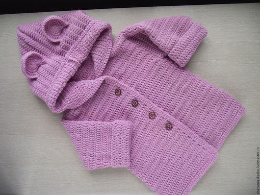"""Одежда для девочек, ручной работы. Ярмарка Мастеров - ручная работа. Купить Кардиган """"Розовая нежность"""". Handmade. Абстрактный, кардиган на девочку"""