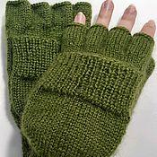 Аксессуары handmade. Livemaster - original item Transformers marsh mittens, L. Handmade.