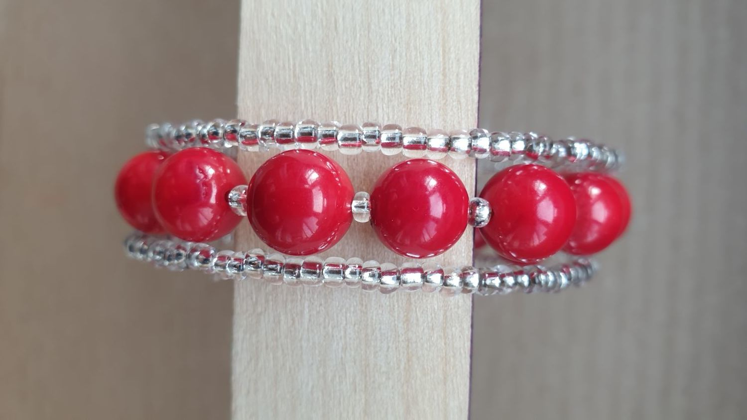 Coral bracelet on memory, Gifts for March 8, Moscow,  Фото №1